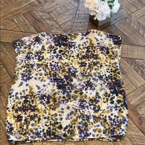 LOFT Tops - LOFT Cap Sleeve Dressy Blouse